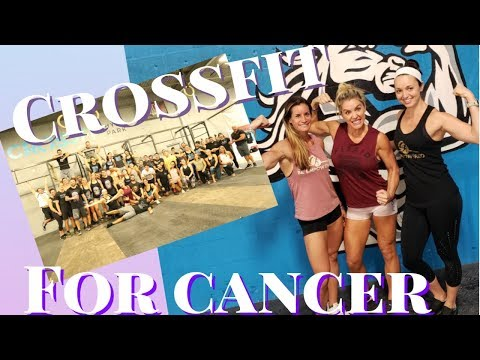 First Annual Crossfit For Cancer | Sarah Grace Fitness