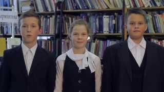 Школьники читают стихотворение М.Ю. Лермонтова