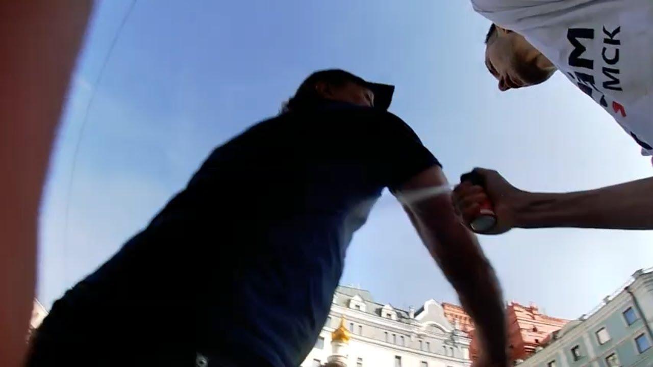 СтопХам-Когда быдло распускает руки оно получает в ответ