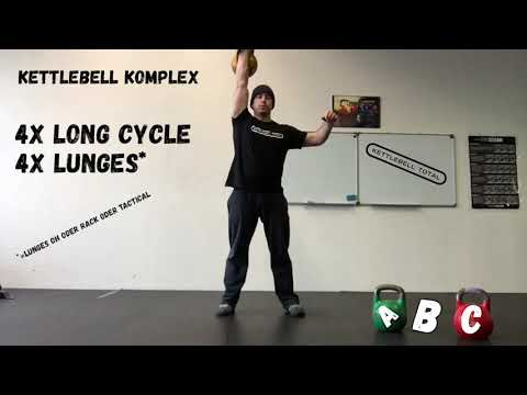 Kettlebell Komplex 3. Advent