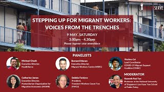 Stepping Up for Migrant Workers: Voices from the trenches