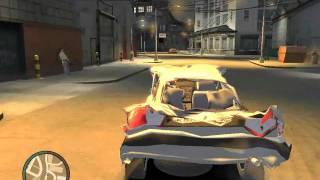 Как я на русской волге в GTA4 гонял