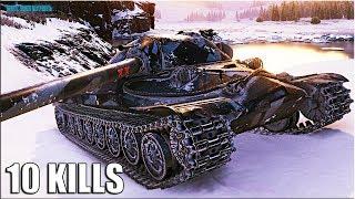 ПРАВИЛЬНАЯ ИГРА на ИС-7 🌟 10300+ dmg 🌟 World of Tanks лучший бой на тт