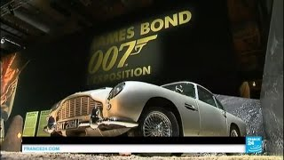 Designing 007: Fifty Years of Bond Style exhibition opens in Paris this Saturday