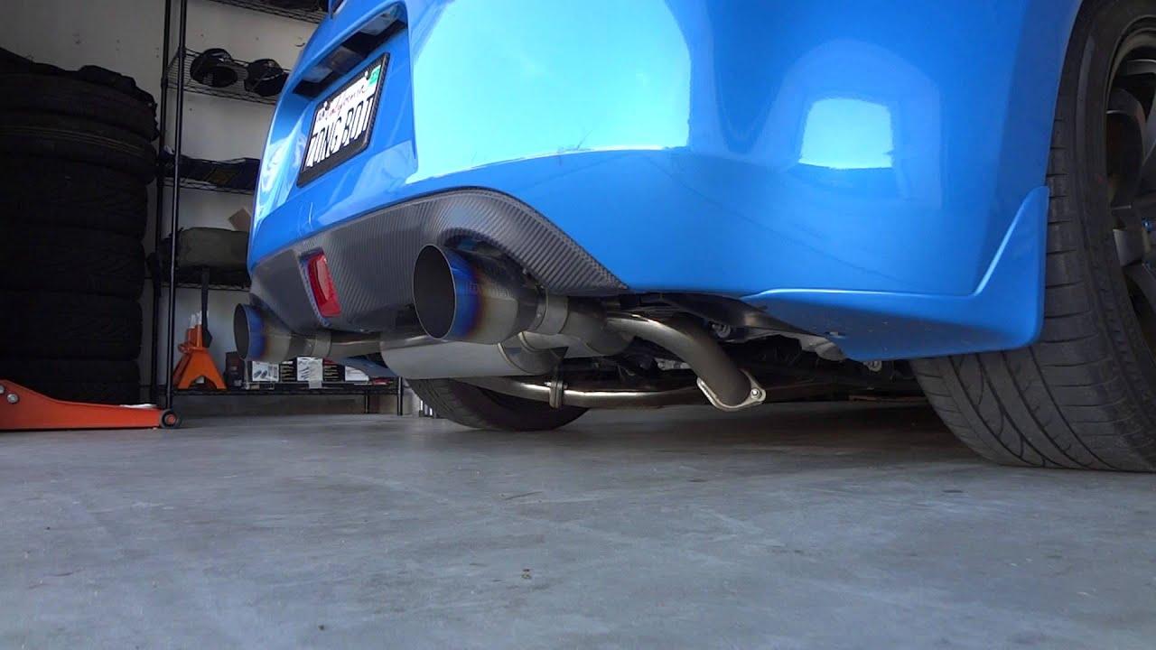nissan 370z invidia gemini catback exhaust