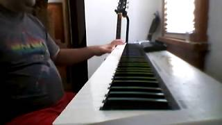 Led Zeppelin - In the Evening (Keyboard Cover)
