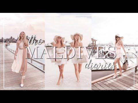 Girls Trip To PARADISE 🌸 MALDIVES Travel Diaries ~ Freddy My Love