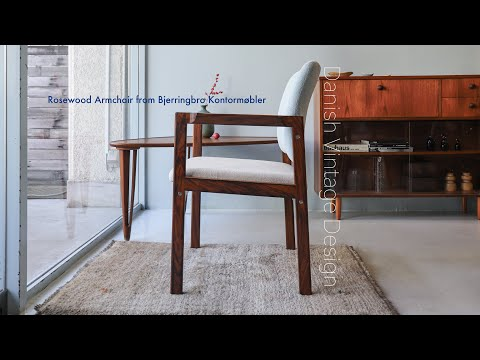 bjerringbro-kontor-møbler-rosewood-arm-chair:デンマーク-ヴィンテージ-ローズウッド-アームチェア-椅子-北欧家具