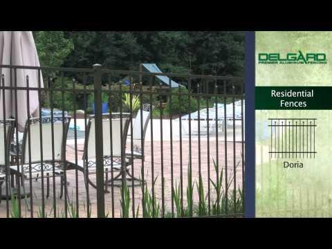 Brand Web Design | Delgard Premier Aluminium - Residential Fences | SSP - Call Us (281) 569-4370