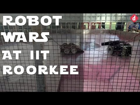 Robot Wars @ IIT Roorkee 2017 | Digit.in