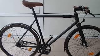 Обзор велосипеда Kildemoes городской скоростной гибрид на планетарке NEXUS 7