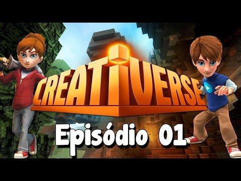 Creativerse #01 - SOBREVIVENDO (OU NÃO) A PRIMEIRA NOITE!