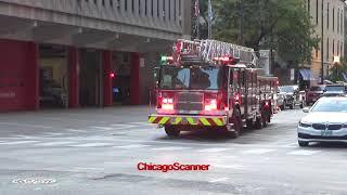 Chicago Fire Department Truck 3 Responding