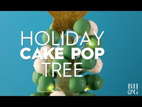 Holiday Cake Pop Tree | Fun With Food | Better Homes & Gardens