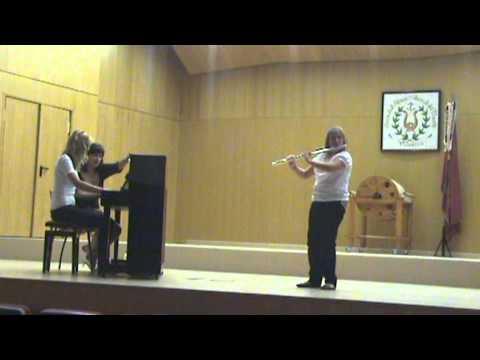 Delia Serrano. Premio Concurso Nacional Flauta Valencia 2011. Obra obligada