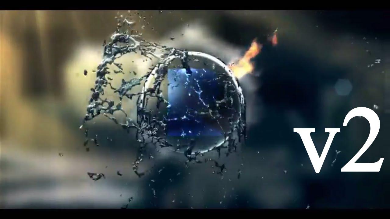 Fire & Water Splash Logo v2 Intro Template #100 Sony Vegas Pro - YouTube