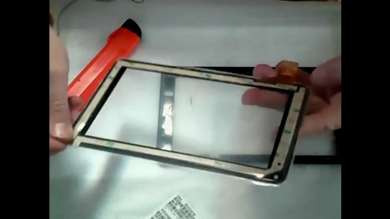 Cambiar o sustituir el cristal t ctil de una tablet pc 7 - Recambio tela parasol ...