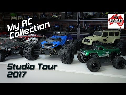 Aussie RC Playground Studio Tour 2017