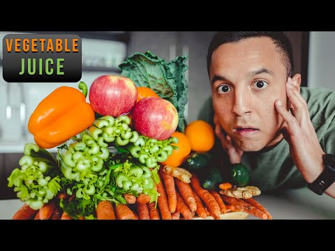 I Drank Vegetable Juice For 7 Days And This Is What Happened