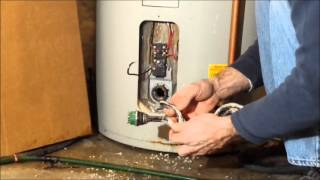 Replacing a water heater element