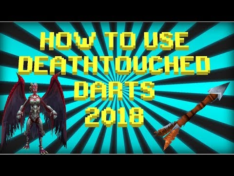 HOW TO USE 'DEATHTOUCHED DARTS' 2018 - Runescape 3