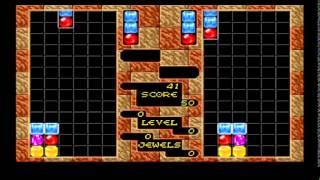 Columns SEGA (Tetris) - FAIL x4 - Arcade 1 VS 1