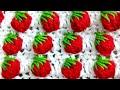 HD Strawberry 🍓🍓🍓 Stitch Crochet / Bobble Stitch Pattern