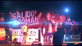 SALIDO VS ROMAN WEIGH INS HIGHLIGHTS