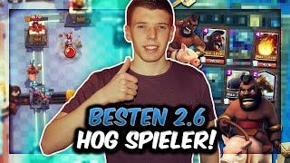 DIE BESTEN 2.6 HOG CYCLE SPIELER IM DUELL!   Neues episches Turnier-Format! Clash Royale Deutsch
