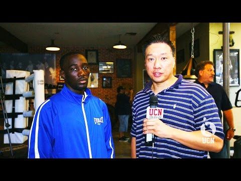 Terence Crawford Interview at Open Workout - UCN EXCLUSIVE