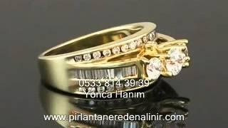 En Ucuz Pırlanta Yüzük Fiyatları, Pırlanta Yüzük Modelleri, Roz Diamond 7B