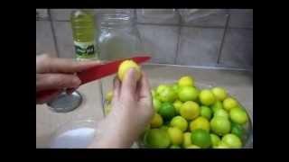 סמדי בומבה מכינה לימון כבוש ביתי