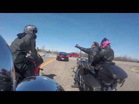 First Motorcycle Ride 2017 - Mazzepa to Red Wing via Wabasha