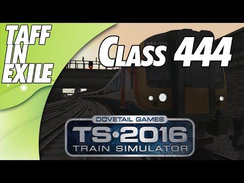 Train Simulator 2016 - E5 - Class 444 to Portsmouth Harbour!