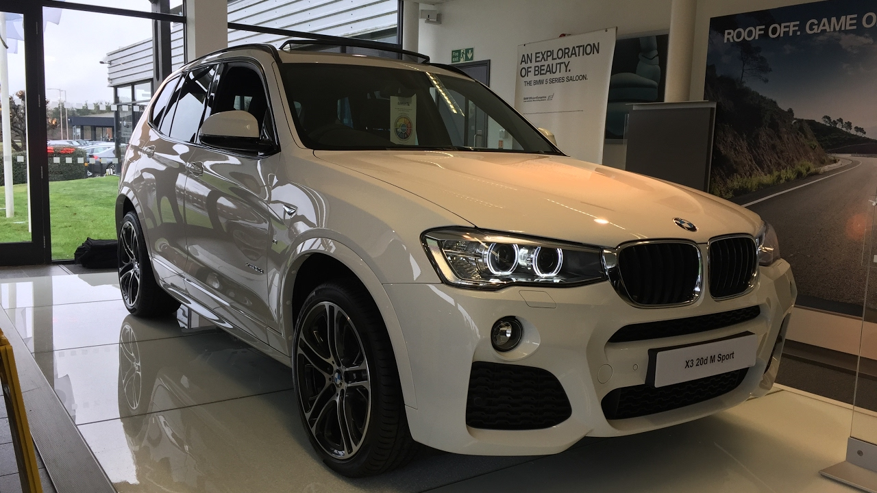 2017 Bmw X3 20d M Sport Exterior And Interior Review