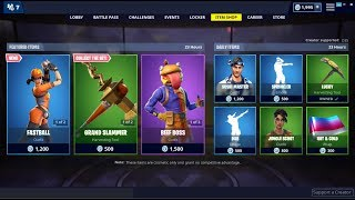*NEW*Fastball & Slugger Skins! Fortnite Item Shop March 28, 2019