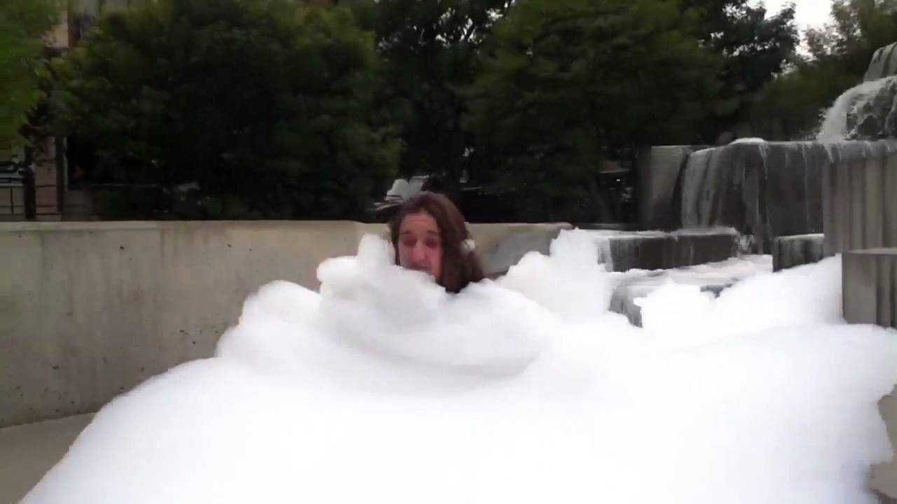 Dish Soap In A Fountain Youtube