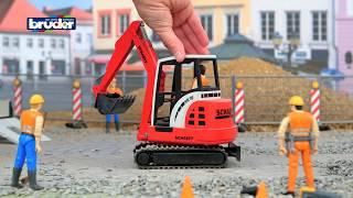 Schaeff HR16 Minibagger -- 02432 -- BRUDER Spielwaren