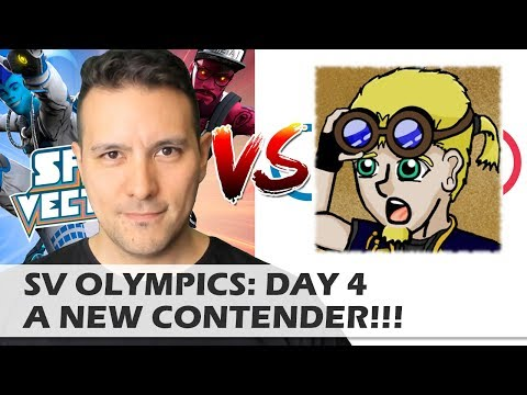 MRTV SPRINT VECTOR OLYMPIC CHALLENGE: DAY 4 - A NEW CONTENDER!!! - HEROES AND FOOLS