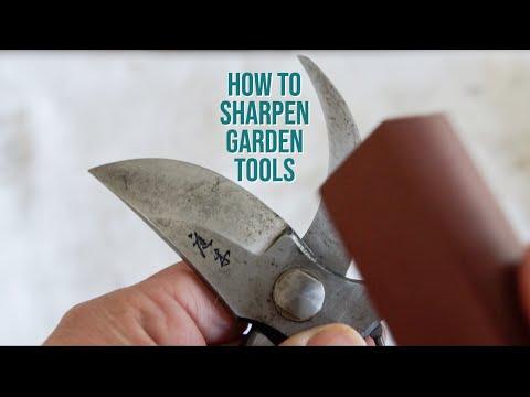 HOW TO SHARPEN PRUNERS | The Impatient Gardener