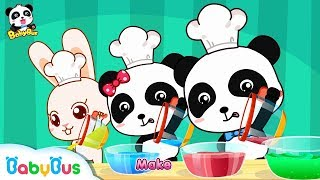 Baby Panda Makes Colorful Ice Cream | Mr. Dao's Dessert Truck | BabyBus Cartoon