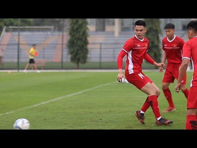 Đội U.19 Việt Nam: Tân binh Việt kiều cao lớn gây ấn tượng tốt