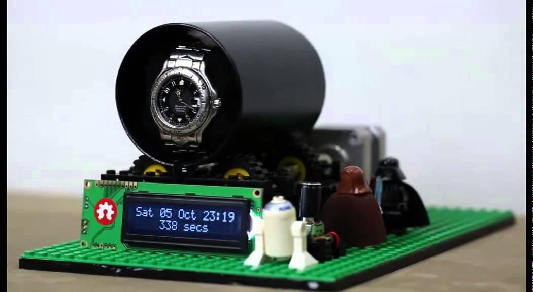Lego watch winder mk youtube