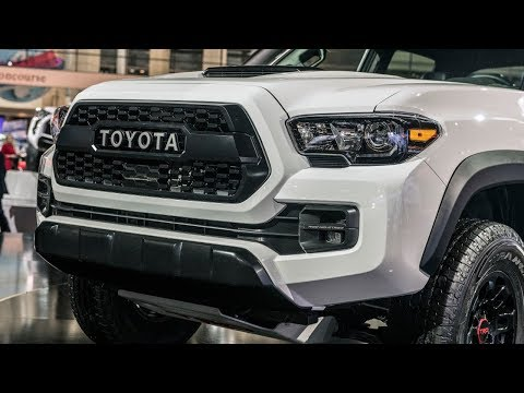 Toyota 2019 TRD Pro trucks amp up performance features for Chicago Auto Show