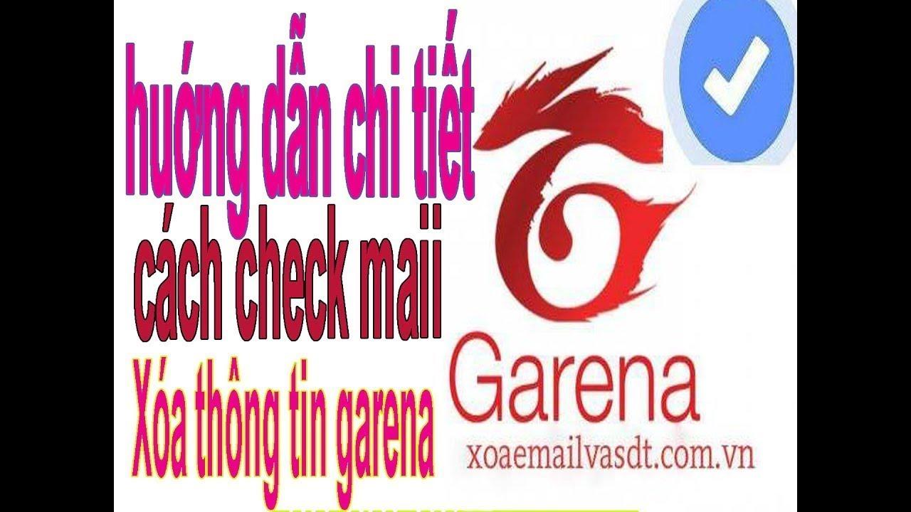 [Mới] Huớng dẫn Xóa thông tin garena bằng cmnd 2019 của garena ✔