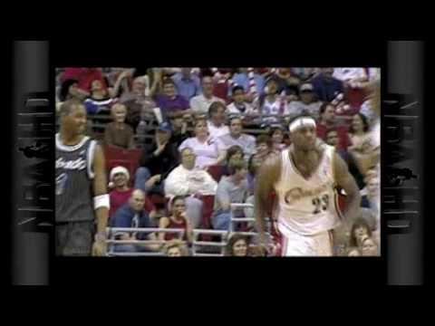 NBA - season 2003-2004 Lebron James