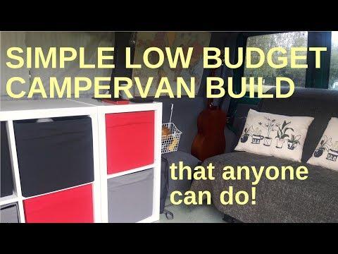 Van Tour - The low budget campervan build using Ikea