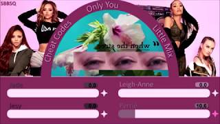 Little Mix ~ Only You ~ Line Distribution