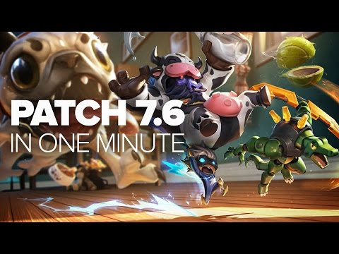 League of Legends Patch 7.6 in a Minute