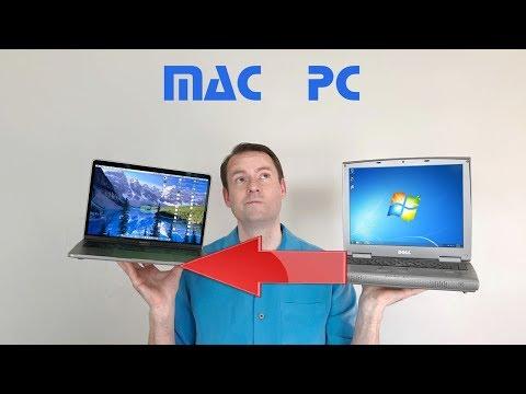 Перенос данных с Windows на компьютер Mac - Ассистент миграции